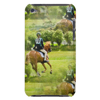 Eventing Horse iTouch Case iPod Touch Cover