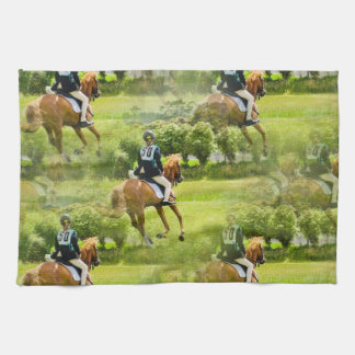Eventing Horse Kitchen Towel