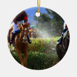 Eventing Horse Ornament
