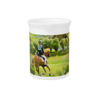 Eventing Horse Pitcher