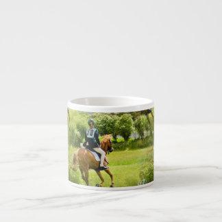 Eventing Horse Specialty Mug Espresso Cups