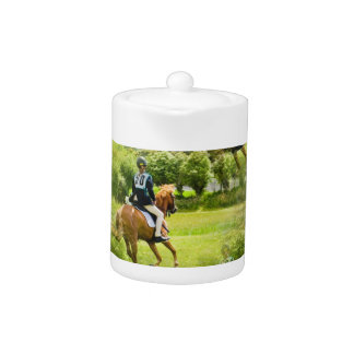 Eventing Horse Teapot