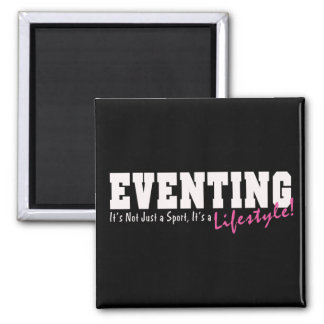 Eventing Lifestyle 2 Inch Square Magnet