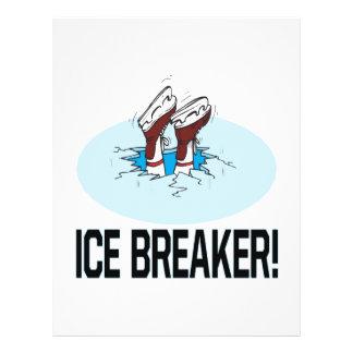 """Evento para romper el hielo folleto 8.5"""" x 11"""""""
