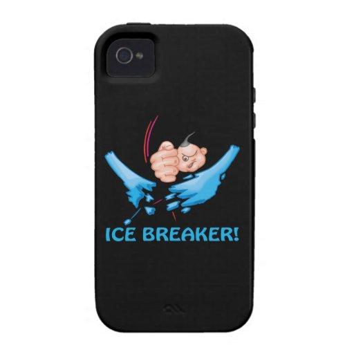 Evento para romper el hielo iPhone 4 funda
