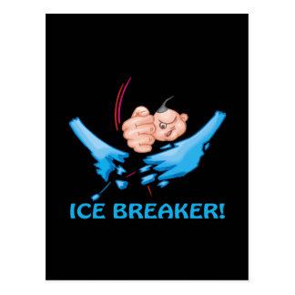 Evento para romper el hielo tarjetas postales