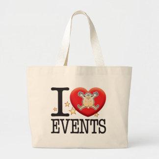 Events Love Man Jumbo Tote Bag