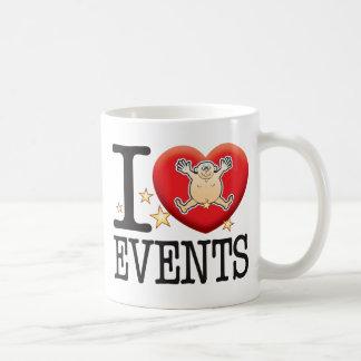 Events Love Man Classic White Coffee Mug