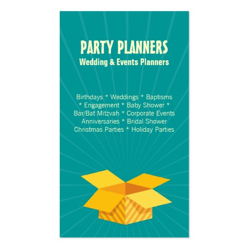 how to open an event planning business