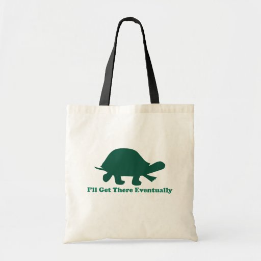 Eventual Turtle Canvas Bag