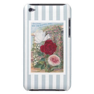 Ever-Blooming Roses Vintage Art Barely There iPod Cases
