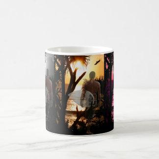 Ever Changing Season Surfer Classic White Coffee Mug