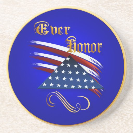 Ever Honor Plate Beverage Coasters