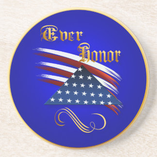 Ever Honor Plate Drink Coaster