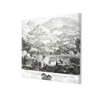Ever Memorable Battle of Buena Vista Canvas Print