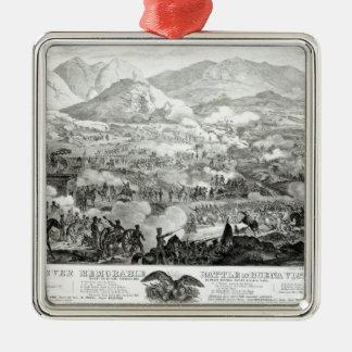 Ever Memorable Battle of Buena Vista Metal Ornament