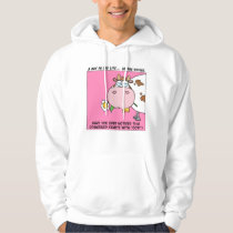 """Ever notice that coworker starts with """"cow""""? hoodie"""