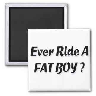 Ever Ride A Fat Boy? Refrigerator Magnets