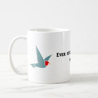 ever-since-i-gave-up-hope-i-have-never-felt-better classic white coffee mug
