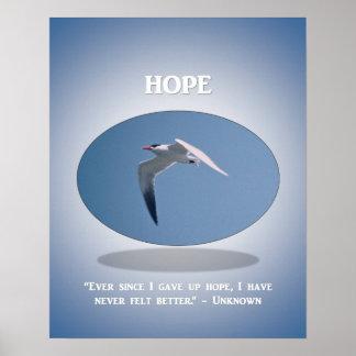 ever-since-i-gave-up-hope-i-have-never-felt-better poster