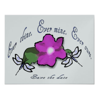 Ever thine.  Ever mine.  Ever ours. Card