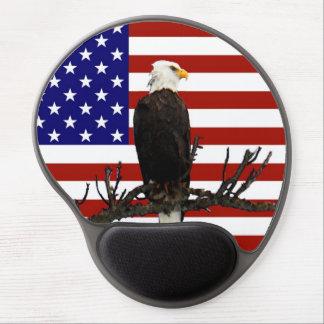 Ever Vigilant Bald Eagle Gel Mouse Pad