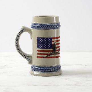 Ever Vigilant Bald Eagle Coffee Mug