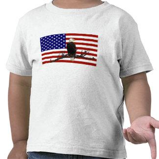 Ever Vigilant Bald Eagle T Shirt