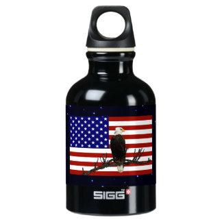 Ever Vigilant Bald Eagle Water Bottle