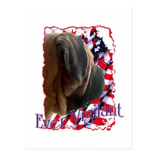 Ever Vigilant Postcard