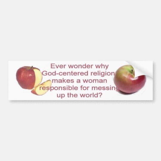 Ever Wonder? Bumper Sticker