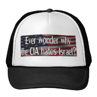 Ever wonder why the CIA Hats