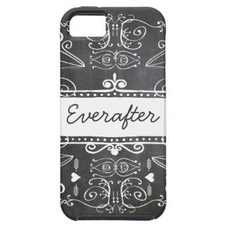 Everafter Chalkboard Typography Art iPhone SE/5/5s Case
