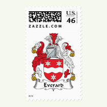 Everard Family Crest Stamps