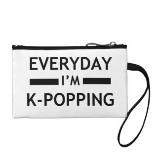 Everday I'm K-POPPING! Coin Purse