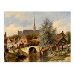 Everday Life in Edam - Petrus Gerardus Vertin Postcards