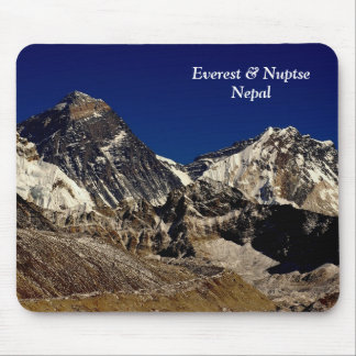Everest and Nuptse Mouse Pad