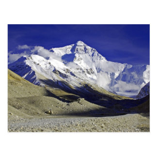 Everest Base Camp Tibet Postcard