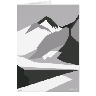 Everest Black - Art Gallery Selection Card