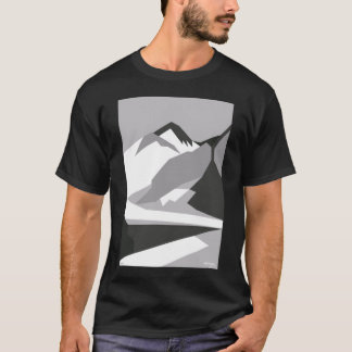 Everest Black - Art Gallery Selection T-Shirt
