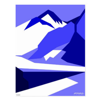Everest Blue - Art Gallery Selection Postcard
