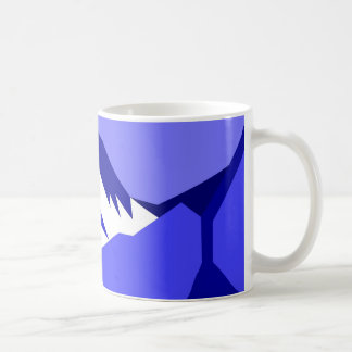 Everest - blue coffee mug