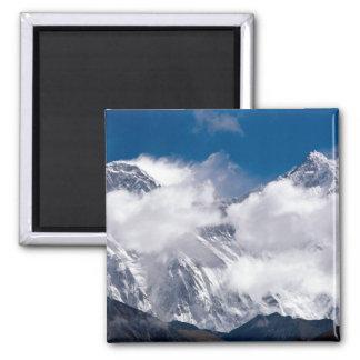 Everest Peak 2 Inch Square Magnet