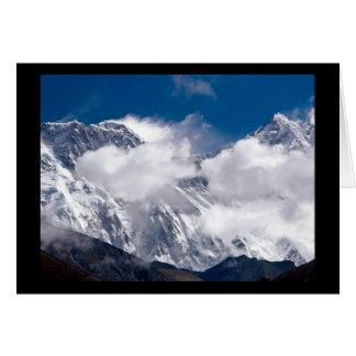Everest Peak Card
