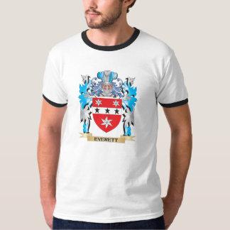 Everett Coat of Arms - Family Crest T Shirt