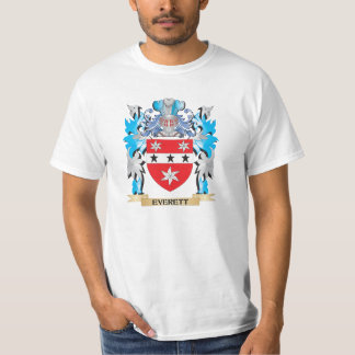 Everett Coat of Arms - Family Crest Tshirts