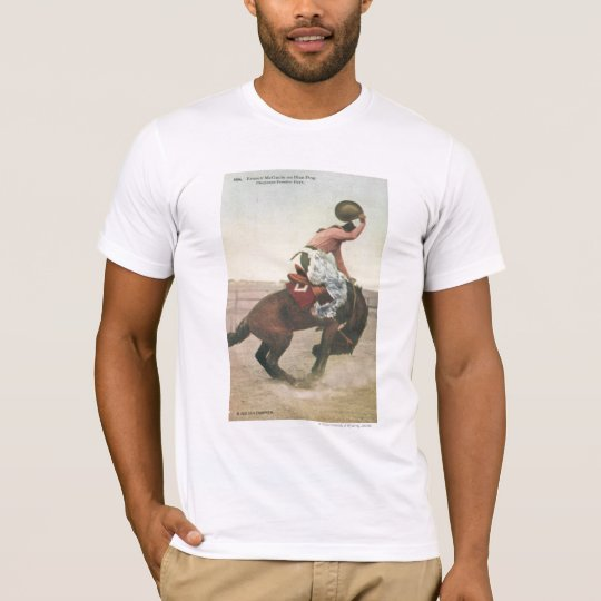 Everett McGucin on Blue Dog Cheyenne Frontier Days T-Shirt