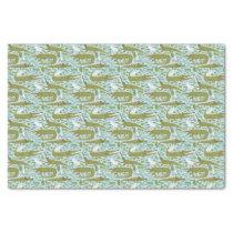 everglades alligators tissue paper