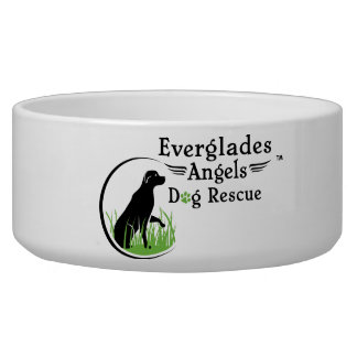 Everglades Angels Dog Rescue Dog Bowl