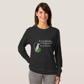Everglades Angels Dog Rescue Lady's Long Sleeve T-Shirt